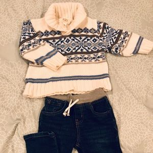 Gymboree fair isle sweater